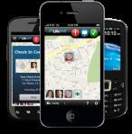 Life360 app screens
